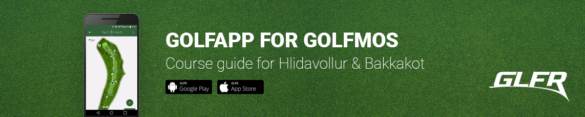 Golfapp for Golfmos